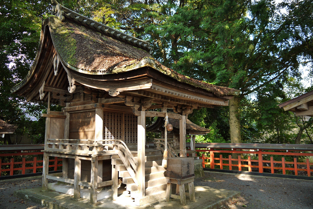 梅田神社の写真素材