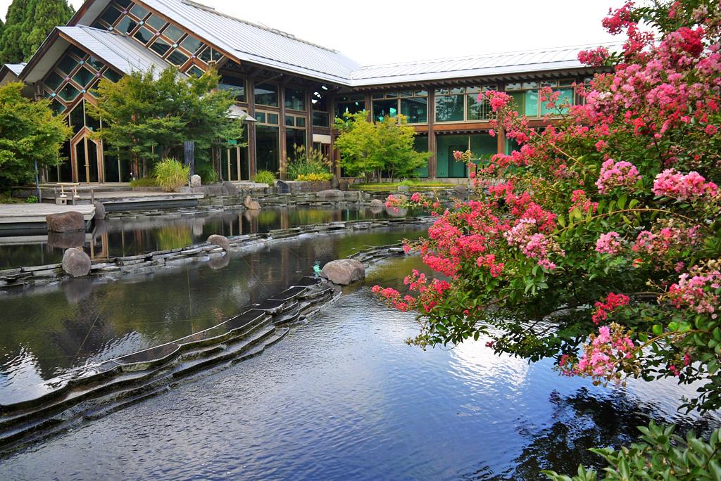 梅小路公園の朱雀の庭