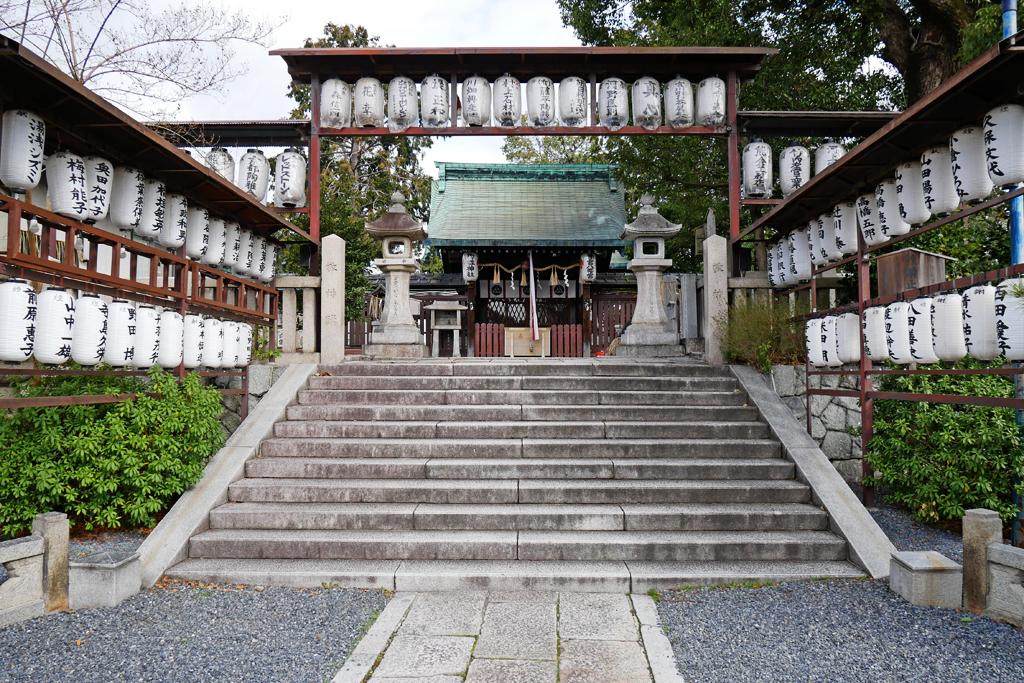 冬の若宮八幡宮