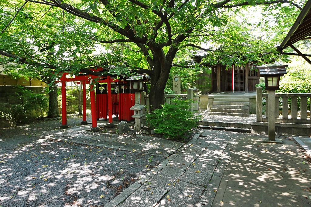 若宮神社(紫野)の写真素材