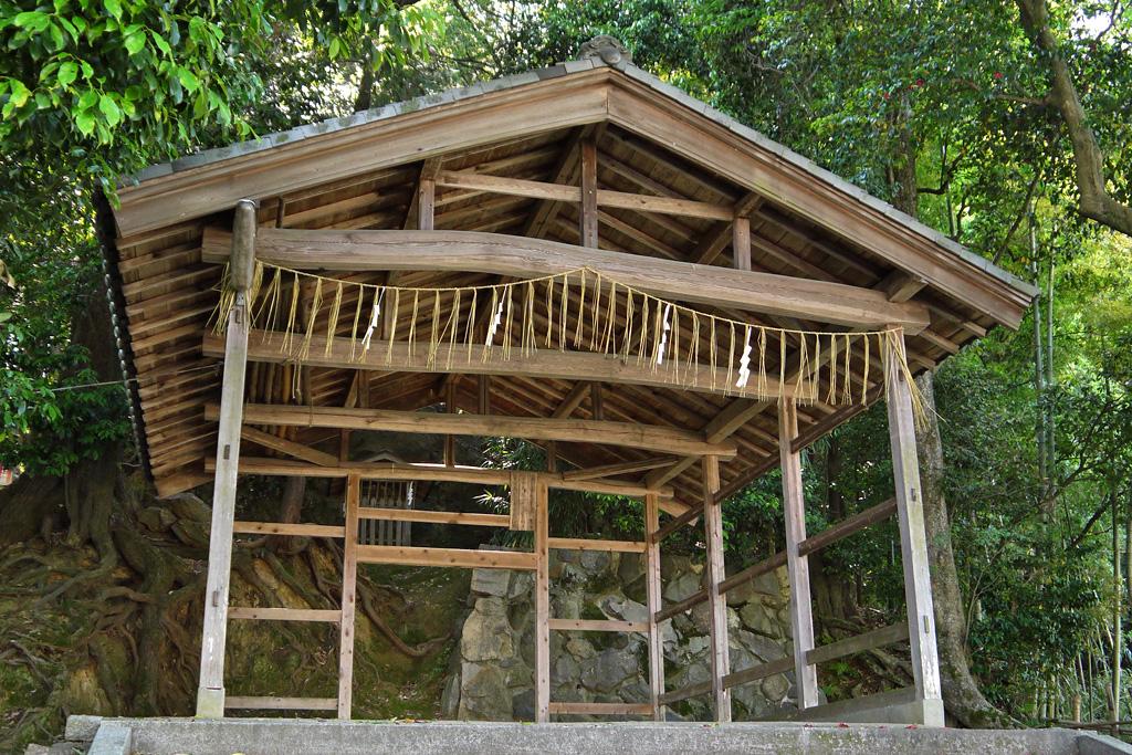 山住神社の写真素材