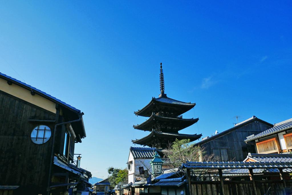 八坂の塔の写真素材
