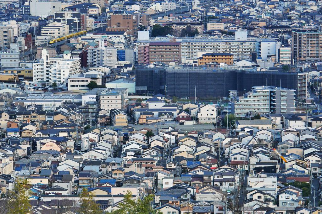 京都のドクターイエロー の写真素材