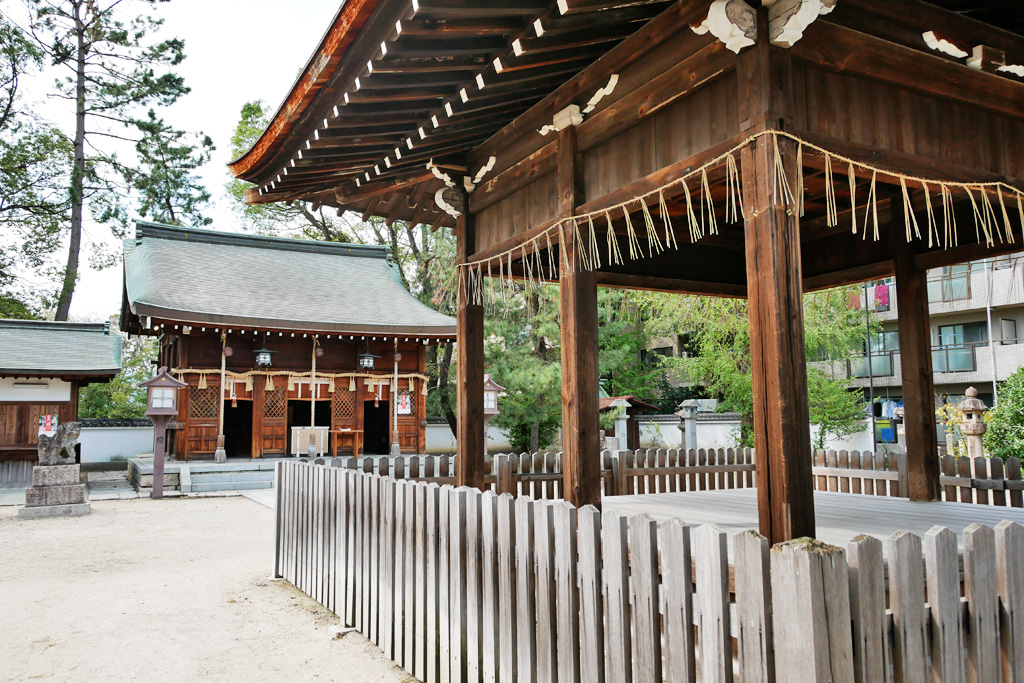 與杼神社の写真素材