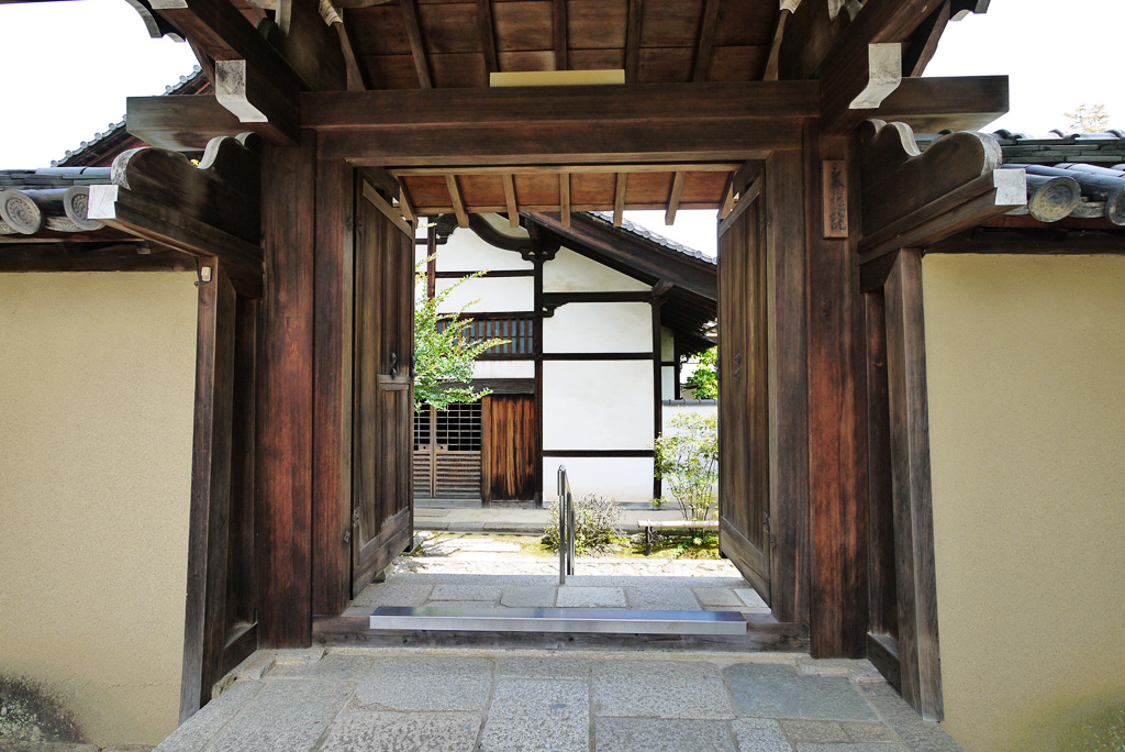 大徳寺 養徳院の写真素材