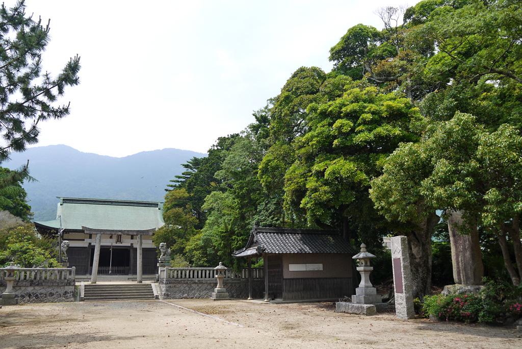 由良神社の写真素材